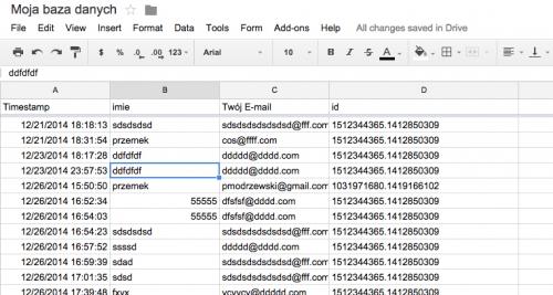 analytics-emaling-database