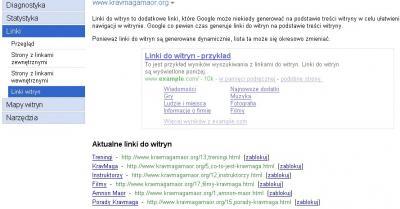 webmaster sitelinks kravmagamaor